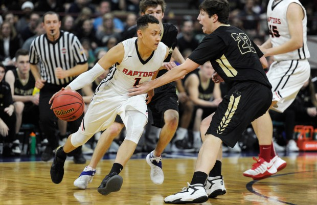 Colbey Ross and No. 1 Eaglecrest take on No. 3 George Washington in the Class 5A state championship game on Saturday at 8:30 p.m. at the Denver Coliseum.