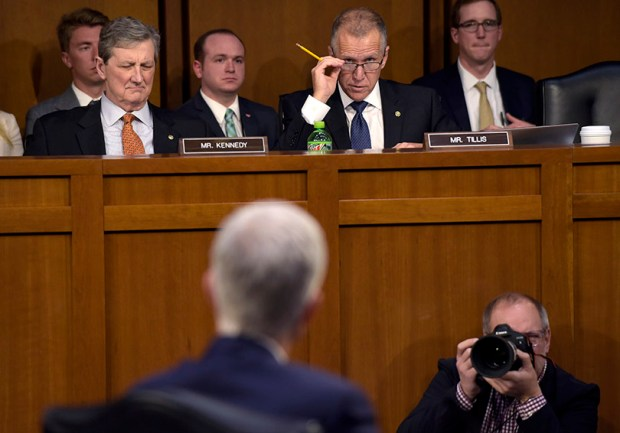Members of the Senate Judiciary Committee member question Supreme Court nominee Neil Gorsuch on Wednesday, the third day of his conformation hearing.