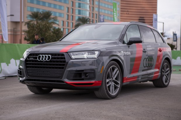 Audi Q7 self-driving concept car