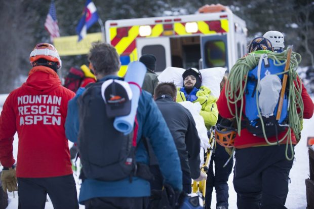 Mountain Rescue Aspen and other officials found Ryan Montoya Tuesday afternoon and rushed him to the hospital. Montoya is recovering in a Denver hospital after two night and a fall off Pyramid Peak.