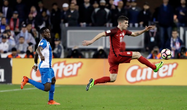 8cc10b84f Christian Pulisic becomes heartbeat of U.S. Soccer team at age 18 ...