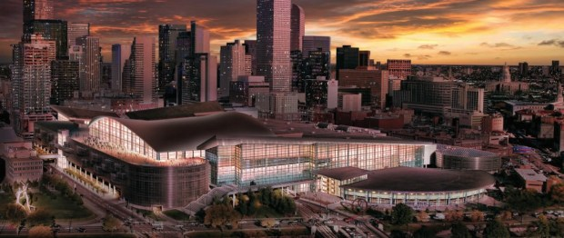 Colorado Convention Center expansion rendering