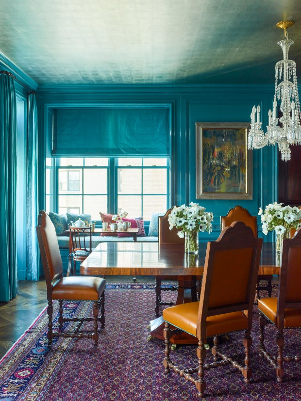modern home dining rooms. Katie Ridder updates a historic apartment in Manhattan with turquoise  lacquered walls and silver In modern homes the dining room is due for revival The Denver