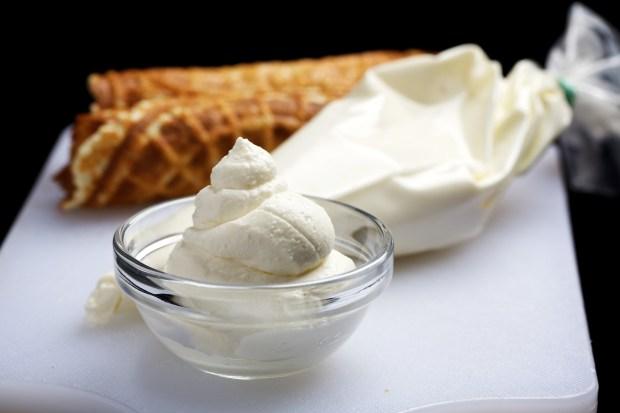 Ricotta Cream.