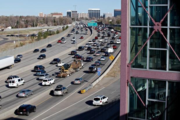 Traffic of Interstate 25