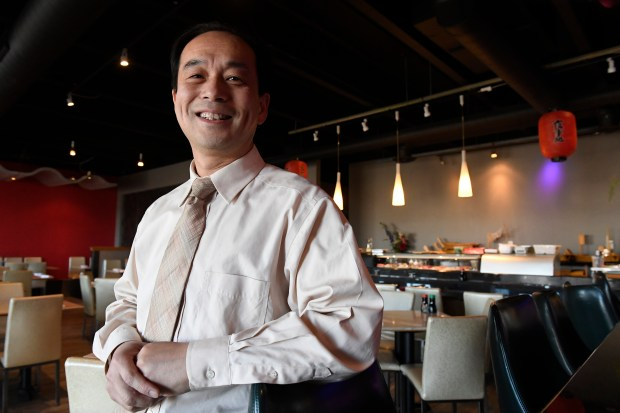 Jie Zheng, owner of Volcano Asian ...