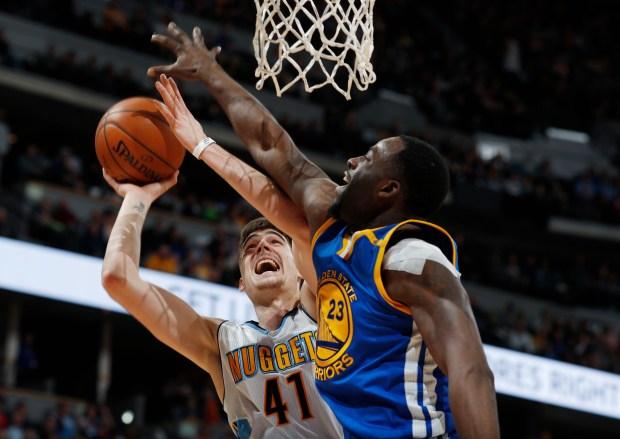Golden State Warriors forward Draymond Green,