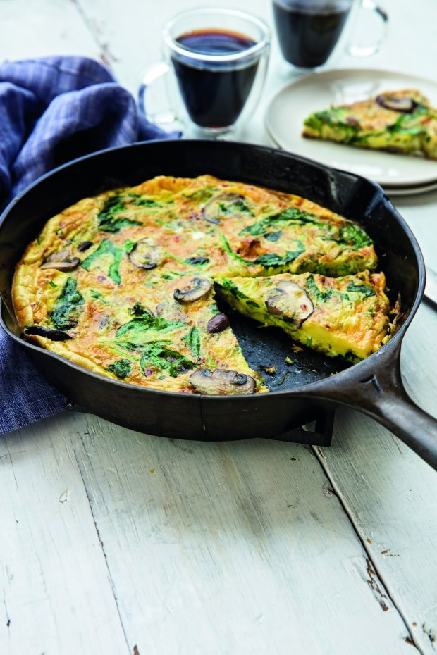 Whole30: Mushroom, leek and spinach frittata – The Denver Post