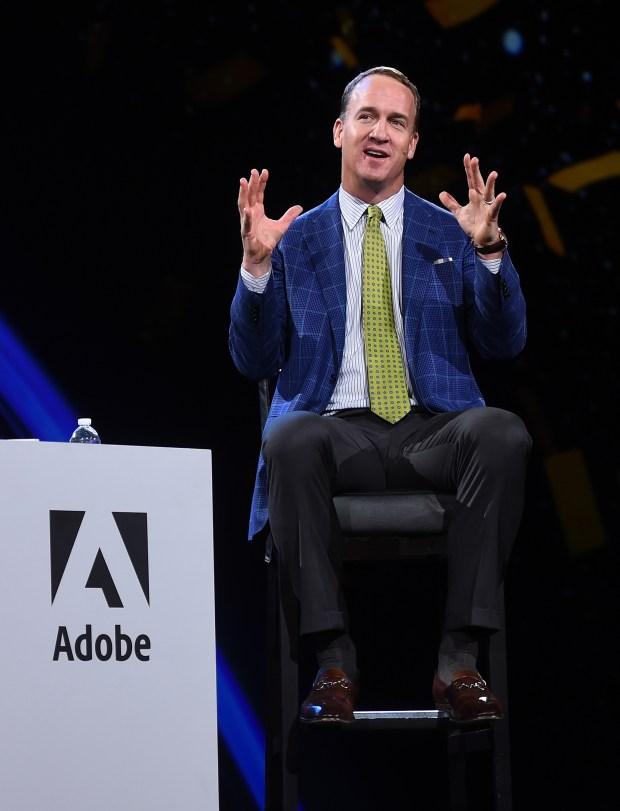 Peyton Manning Adobe Summit