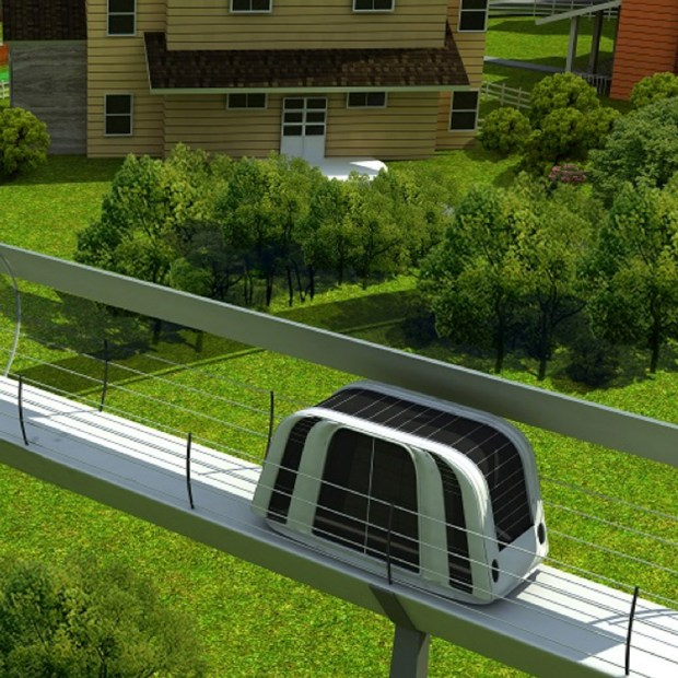 A better way to get to work? The urban-friendly SmART system from PRT Consulting in Denver, pitched personal pods travel that move people from home to their destination. PRT won second in the Infrastructure Vision 2050 Challenge, hosted by the Association of Equipment Manufacturers.