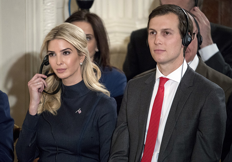Jared Kushner omits some foreign contacts on security form