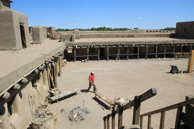 Bent's Old Fort was reconstructed in its original location and is operated by the National Park Service.