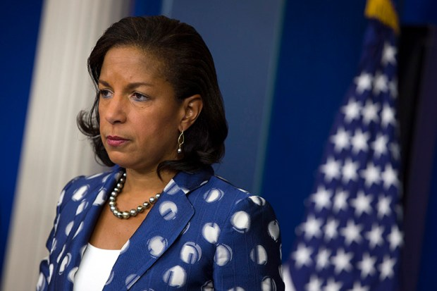 Susan Rice, national security adviser for President Barack Obama, participates in a briefing at the White House on July 22, 2015.