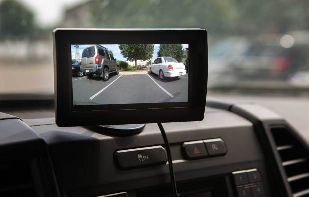 If you've been envious of cars that have built-in backup cameras, Fort Collins-based Trail Ridge Technologies has the next best thing: a camera system that doesn't require drilling holes and routing wires in your car. The aftermarket system relies on wireless technology to produce a wide-angle view of what's behind.