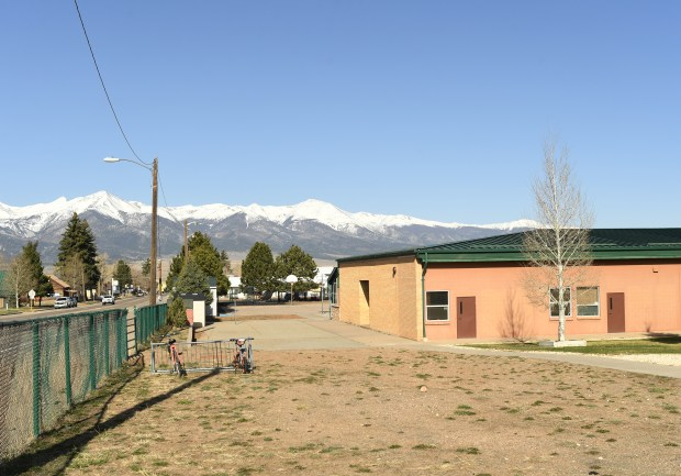 Bikes are parked outside the school April 13, 2017 in Westcliffe. The Custer County School District is seeing a teacher shortage and a lack of affordable housing so they are are building apartments for teachers in an old pre-school building that they are no longer using.