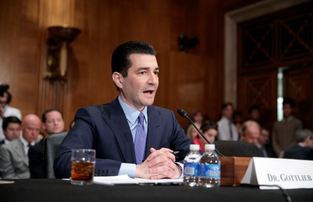 New FDA chief Scott Gottlieb will soon decide whether to accept pharmaceutical industry proposals to reduce standards under which drugs can be advertised.