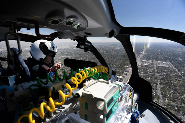 With sleek new kids-only helicopter, Children's Hospital ...
