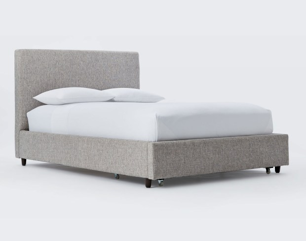 A storage bed is ideal in first apartments.