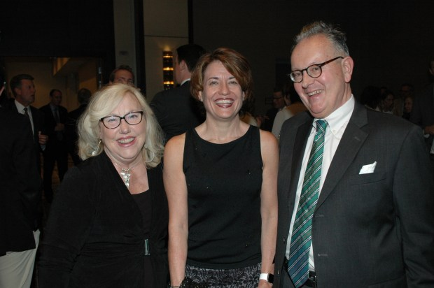 Barbara Grogan, Kelly Brough and Jack Finlaw.