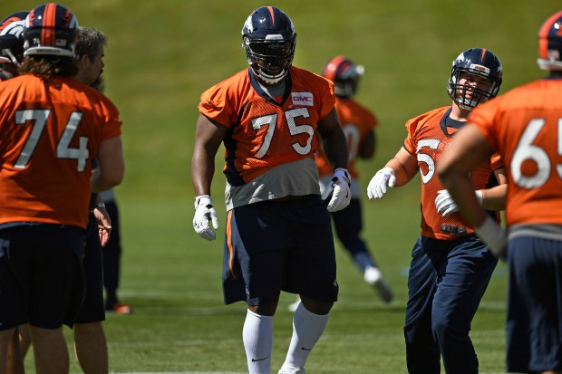 Broncos lineman Menelik Watson has words of strength for his hometown Manchester after attack