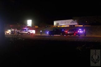 A photo of the fatal collision in Glenwood Springs.