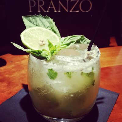 A margarita from Pranzo. (Brittany Anas, Special to The Denver Post)