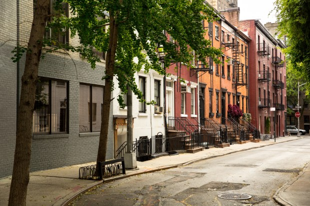 Greenwich Village in New York City.