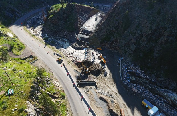 Road crews, with Kiewit, continue to ...