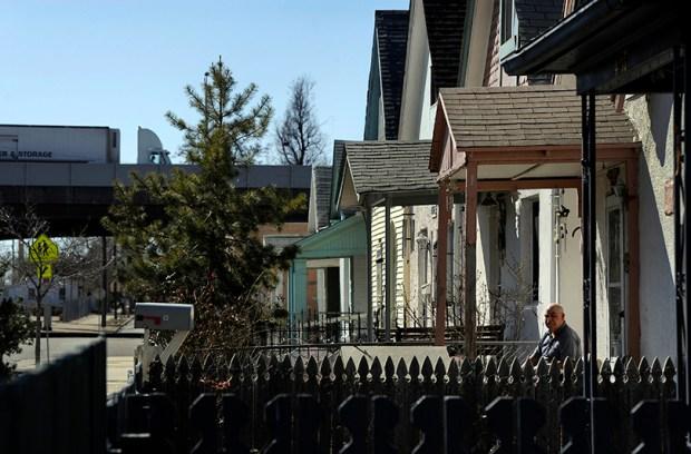 Houses in Denver's Swansea neighborhood on March 10, 2012.