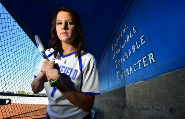Broomfield senior Linnie Malkin, posing here for the 2016 BoCoPreps.com softball player of the year honor, was named the Gatorade Softball Player of the Year.