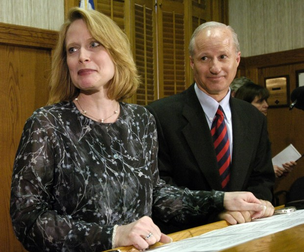 Cynthia and Mike Coffman in 2005.