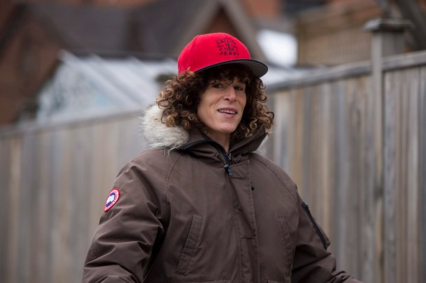 n this Dec. 31, 2015, file photo, Andrea Constand walks her dogs in Toronto. Bill Cosby goes on trial Monday, June 5, 2017, in suburban Philadelphia in a sexual assault case that will largely rest on the testimony of Constand.