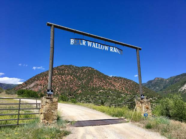Bear Wallow Ranch is located on Canyon Creek Road just west of Glenwood Springs.