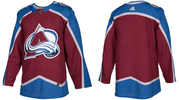 New Avalanche uniforms revealed for 2017-18 season