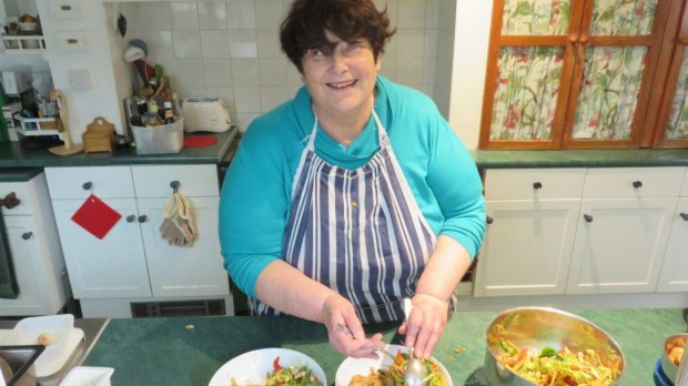 Penny Melville-Brown lost her sight when she was a Navy commander; now she is traveling the world, cooking with blind and sighted chefs