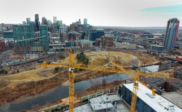 Construction continues to change Denver's skyline, March 3, 2017.