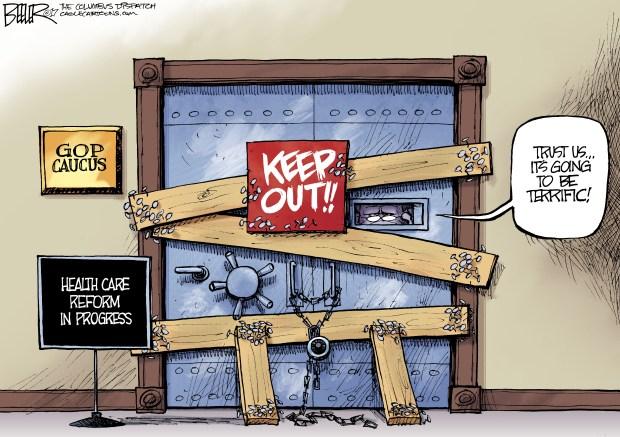 gop-senate-health-care-bill-cartoon-beeler