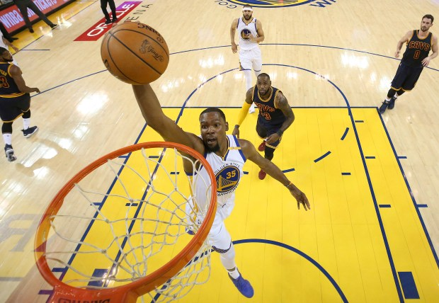 Golden State Warriors forward Kevin Durant ...