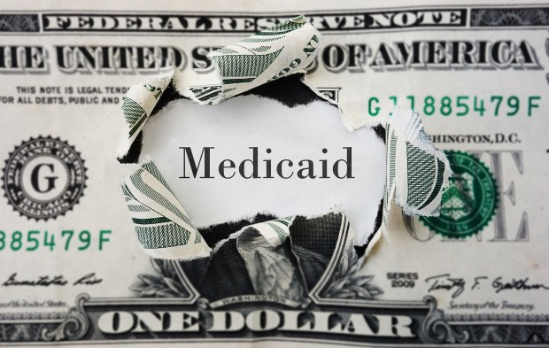 According to the Congressional Budget Office, Senate Republicans' health care proposal would cut $772 billion from Medicaid by 2026.