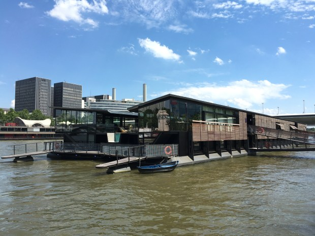 Docked near the Gare de l'Austerlitz, Off Paris Seine is the city's first floating hotel.