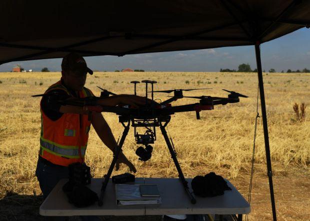 Jack Davis, field operation technician with ...