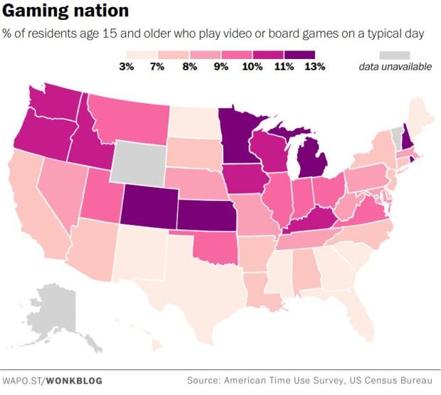 Gaming nation.