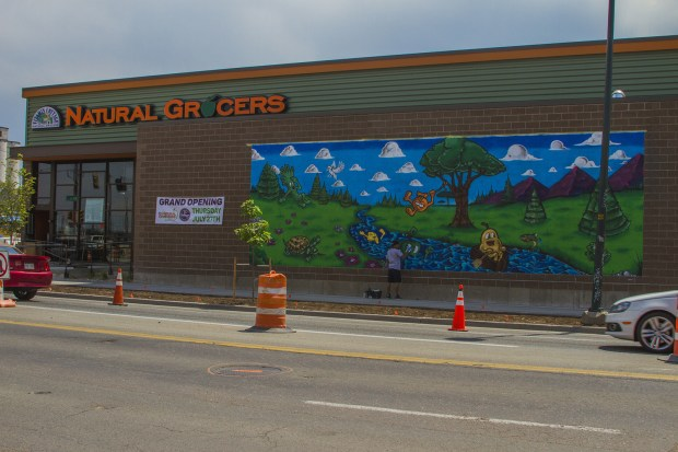 The Natural Grocers store at 3757 N Brighton Blvd. in RiNo is seen ahead of its July 27 grand opening date.