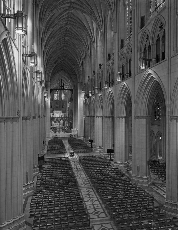 The National Cathedral in Washington D.C. ...