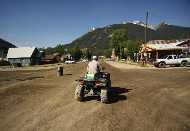 Brad Coffelt takes his ATV into ...