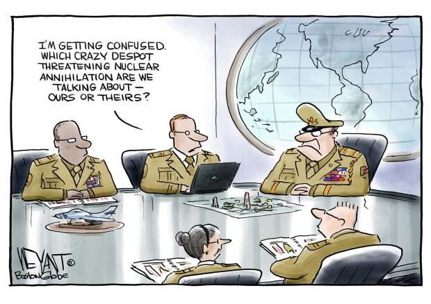 2017-08-14-north-korea-trump-nukes-cartoon-weyant
