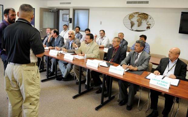 U.S. State Department teaches Afghani prison ...