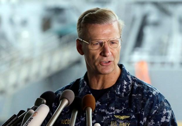 U.S. Navy Vice Adm. Joseph ...