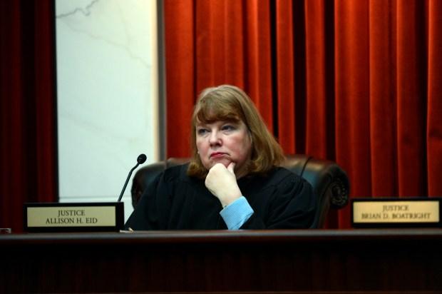 Colorado Supreme Court Justice Allison Eid ...