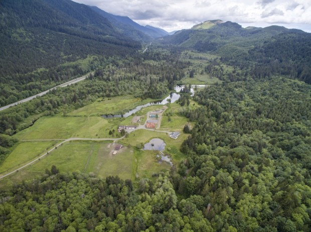 Olympic National Park: Spring Lakes Farm, a 184-acre farm near Olympic National Park, is listed at $1,499,000.